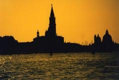 Venezia - Tramonto Immagine Stock Libera da Diritti