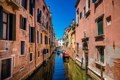 Venezia un il giorno soleggiato luminoso Immagini Stock Libere da Diritti