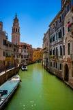 Venezia un il giorno soleggiato luminoso Fotografia Stock