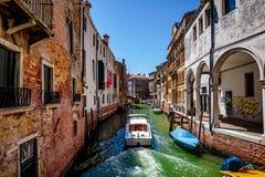 Venezia un il giorno soleggiato luminoso Fotografie Stock