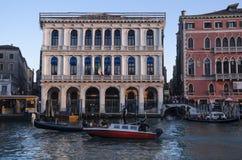 Venezia und der Abendsonnenuntergang Stockfotos