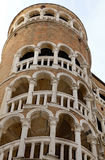 Venezia, VE, Италия - 31-ое декабря 2015: Старый венецианский дворец Стоковое Изображение