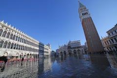 VENEZIA, VE, ITALIA - 31 gennaio 2015: La basilica e la c di St Mark Immagini Stock