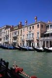 Venezia veduta dalla gondola Fotografie Stock