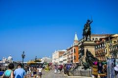 Venezia Venezia Italia San Marco avanti immagine stock