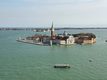 Venezia. View of St. George Island. Royalty Free Stock Images
