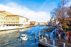 Venezia Italy. Venezia, the water canal city Stock Photo
