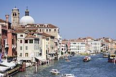 Veneziakanaal Stock Foto