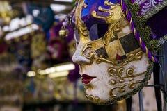 Venezian maska 4 Obrazy Royalty Free