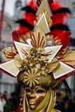 Venezian maskering 9 Royaltyfri Bild