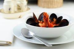 Venezian soup Stock Photography