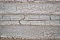 Venezianas de madeira afligidas Imagem de Stock