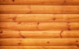 Venezianas de madeira de Brown com os nós juntados junto Imagem de Stock Royalty Free