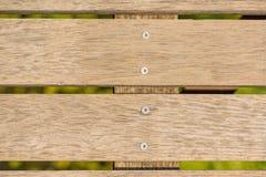 Venezianas de madeira Linha de madeira natural do lath para arranjar o fundo da textura do teste padrão foto de stock royalty free