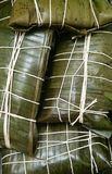 Venezolaans Traditioneel schotelvoedsel Hallacas stock afbeelding