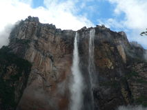 Venezuela adventure travelling: Angel Falls Royalty Free Stock Images