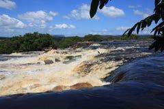 Venezuela Angel Falls Canyon fotos de archivo libres de regalías