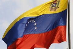 Venezuela bandery Fotografia Royalty Free