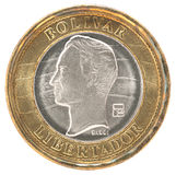 Venezuela bolivar coin Stock Photo