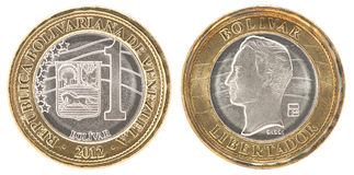Venezuela bolivar coin Stock Images