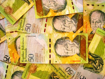 Venezuela Currency Royalty Free Stock Photo