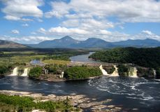 Venezuela do parque nacional de Canaima fotografia de stock