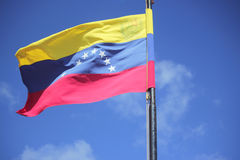 Venezuela Flag. Stock Photography