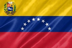 Venezuela Flag stock photos