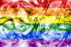 Venezuela glad rökflagga, flagga för LGBT Venezuela Fotografering för Bildbyråer