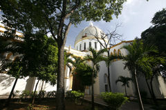 VENEZUELA ISLA MARGATITA PORLAMAR CATEDRAL DE ÁMÉRICA DO SUL imagem de stock