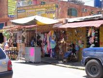 Venezuela-Kunstfertigkeitsshop Lizenzfreie Stockfotos