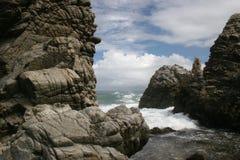 Venezuela kust- seascape royaltyfri fotografi