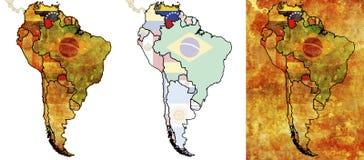 Venezuela-Markierungsfahnengegend Lizenzfreie Stockfotos