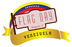 Venezuela's National Day - Flag Day Royalty Free Stock Photos