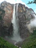 Venezuela tadvantur travelling: Angel Falls Royalty Free Stock Photo