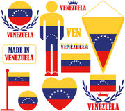 Venezuela. Vector illustration (EPS 10 Stock Photo