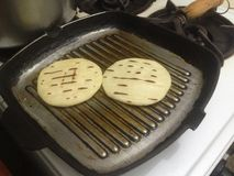 Venezuelan Arepas ready to be served