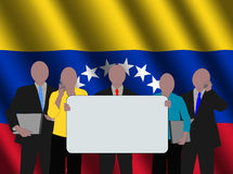 Venezuelan business team Royalty Free Stock Photography