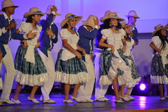 Venezuelan dance costume Stock Photography
