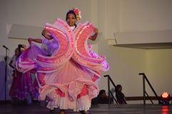 Venezuelan dance costume Stock Photo