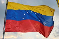 Venezuelan Flag Stock Image