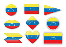 Venezuelan flag Stock Photo