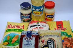 Venezuelan food products. Stock Photo