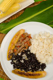 Venezuelan food Royalty Free Stock Photo