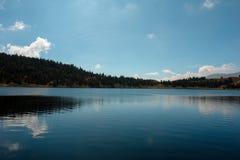 Mountain Lake. Venezuelan lake, named Mucubají in Mérida state Royalty Free Stock Photos