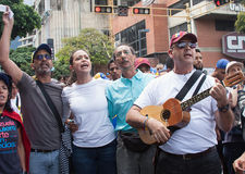 Venezuelan opposition leader Maria Corina Machado Royalty Free Stock Image