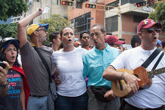 Venezuelan opposition leader Maria Corina Machado Royalty Free Stock Photography