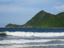 Venezuelansk kust arkivfoto