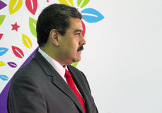 Venezuelansk president Nicolas Maduro arkivfoto