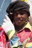 Venezuelanska dansjäklar av det ogripbara kulturarvet för Naiguata UNESCO fotografering för bildbyråer